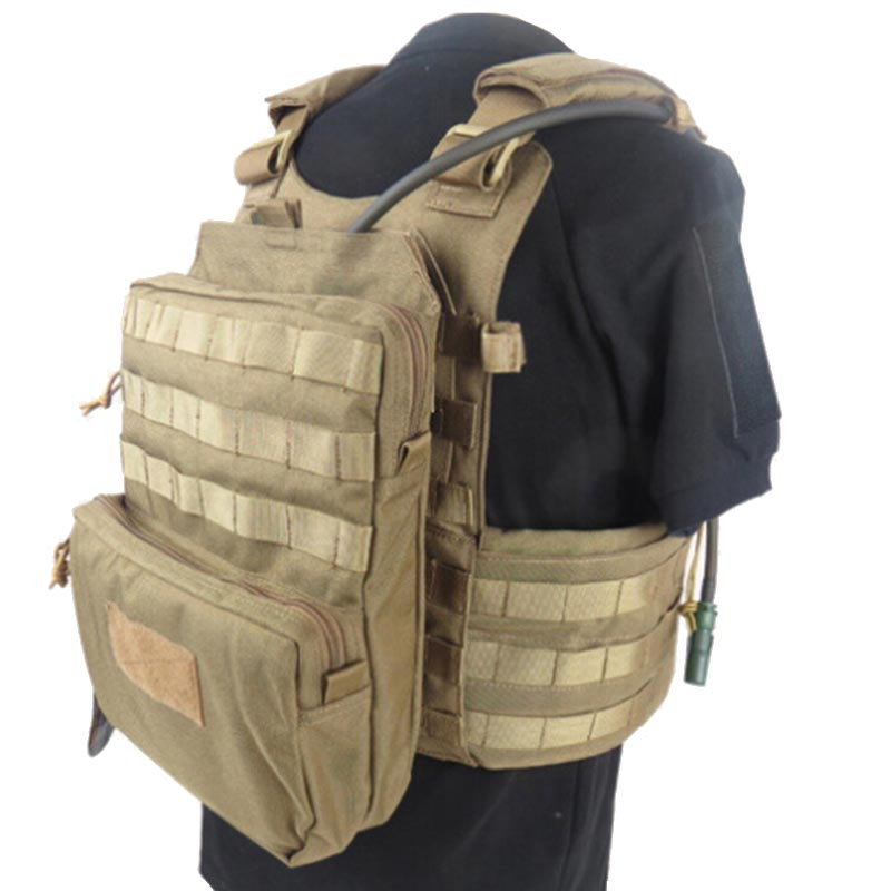 Military Tactical Molle Hydration Bladder Carrier Pack Load ...
