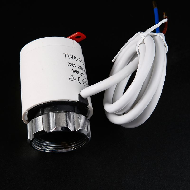 230V Normally Closed Thermal Electric Actuator Flooring Heating System Water Separator For Manifold