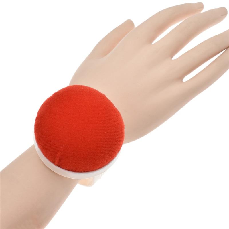 Sewing Pattern Beige D/&D Wrist Pin Cushion Pumpkin Pin Cushion Wearable Pincushions for Needles Pins Holder