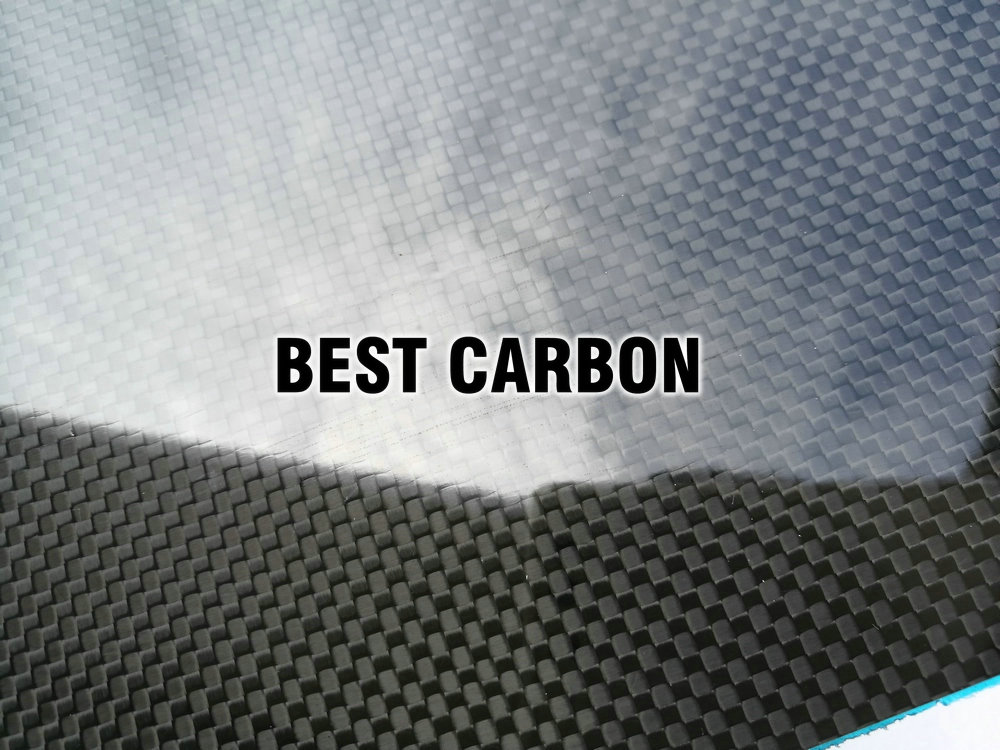 1.5mm x 600mm x 600mm 100% Carbon Fiber Plate , carbon fiber sheet, carbon fiber panel ,Matte surface 1sheet matte surface 3k 100% carbon fiber plate sheet 2mm thickness