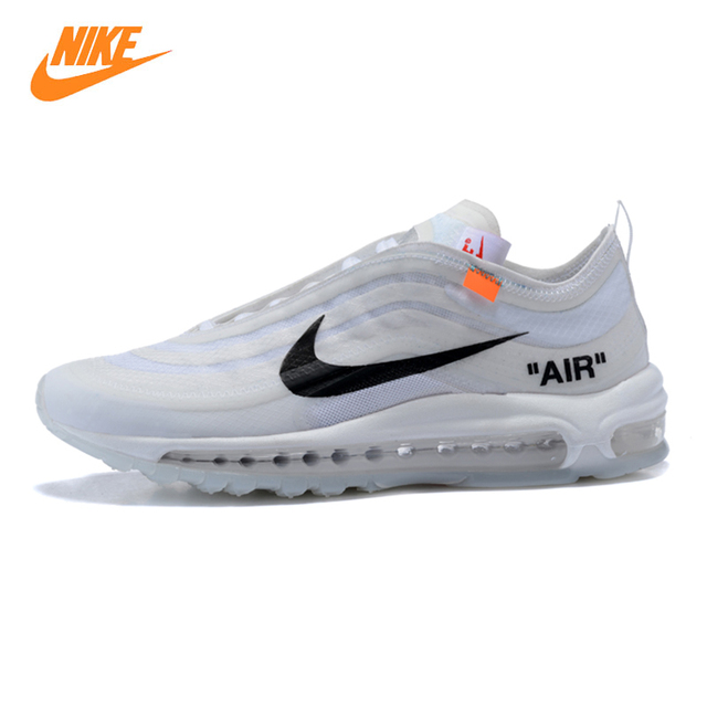 6aa598ff9401 ... spain nike air max 97 mens running shoes white shock absorption  breathable lightweight non 05fb6 db967