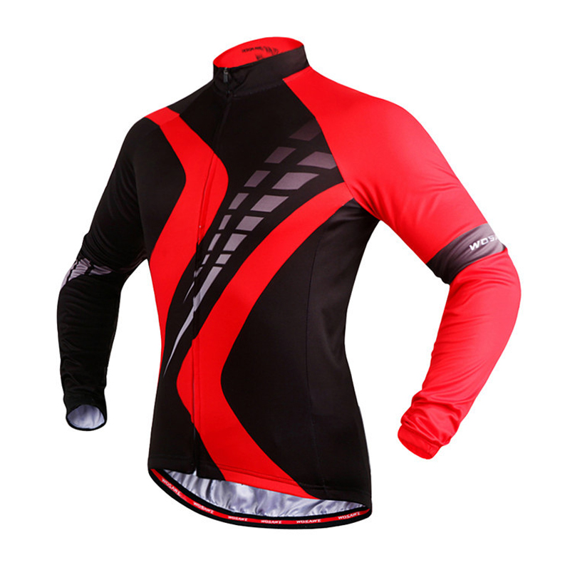 2017 Hot Quick Dry Cycling Jersey Long Sleeve Summer Spring Breathable Men's Shirt