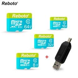Memory Card 64GB 32GB Micro SD Card 16GB 8GB 4GB Microsd cartao de memoria SDXC SDHC Free OTG Card Reader Free Shipping