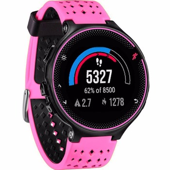 8 colors Silicone Replacement Watch Band for Garmin Forerunner 230 / 235 / 220 / 620 / 630 / 735 watch Outdoor Sport Watchstrap 1