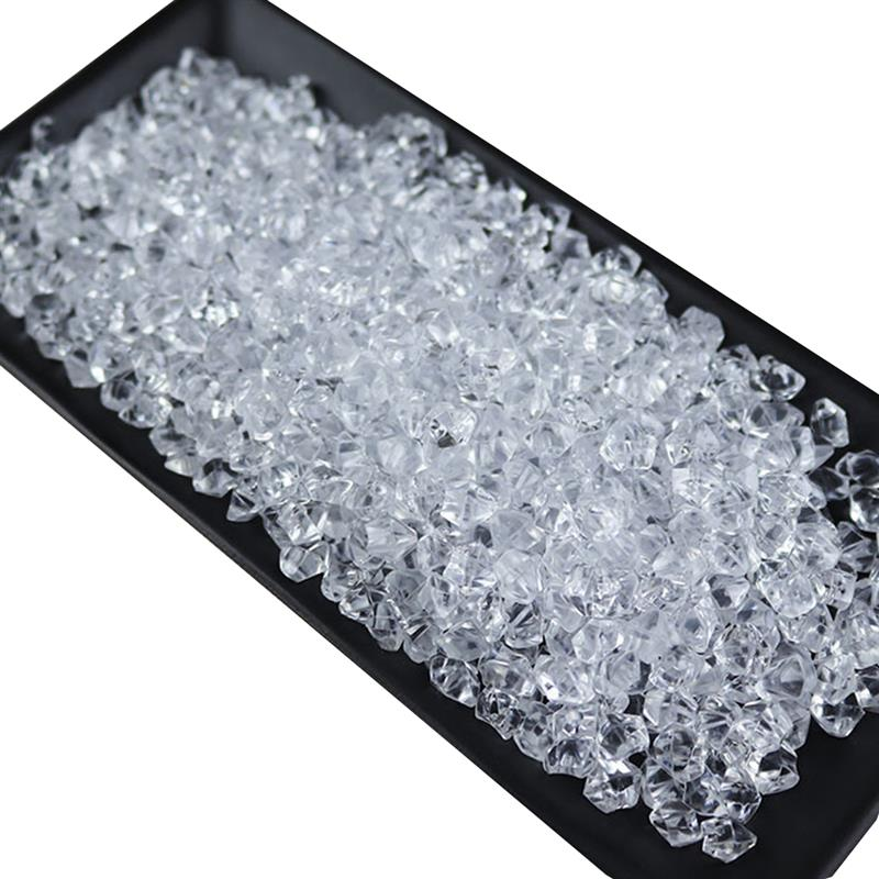 1 Pack Simulation Ice Block Acrylic Ice Cube Decorative Fake Crushed Ice Rock For Photography Prop Home Decoration Supplies