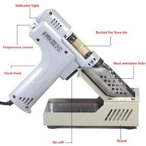 Пистолет для распайки, вакуумный насос для распайки припоя, присоска, нагревательное ядро, присоска, оловянный фонарь, сердечник, железный с...
