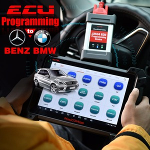 Image 2 - Autel MaxisCOM MK908P Pro Car Auto Diagnostic Tool OBD2 Scanner Automotive ECU Programming J2534 programmer as Maxisys Pro Elite