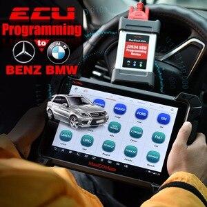 Image 2 - Автомобильный диагностический инструмент Autel MaxisCOM MK908P Pro, сканер OBD2, автомобильный программатор ECU J2534, Maxisys Pro Elite