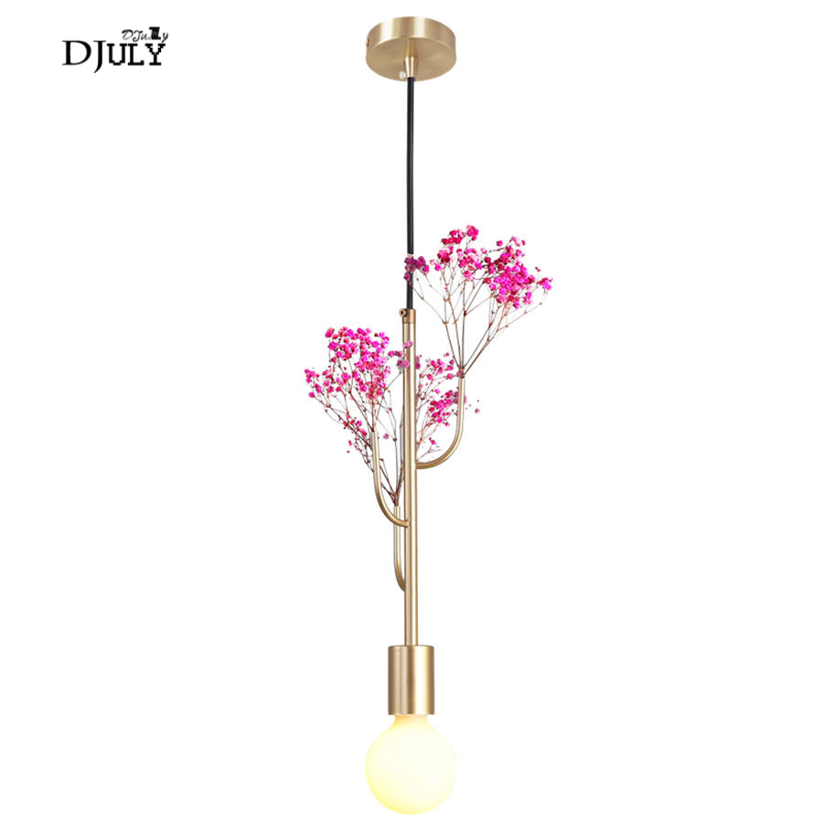 nordic Gypsophila flowers pendant lights for living room cafe bar dining room light fixtures country home deco elegant hang lampnordic Gypsophila flowers pendant lights for living room cafe bar dining room light fixtures country home deco elegant hang lamp