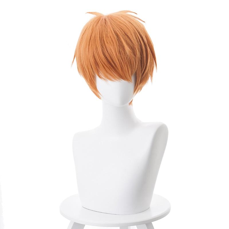 ANIME FRUITS BASKET Soma Kyo Pein Pain Irie Orange Short Cosplay Wig //WIGS