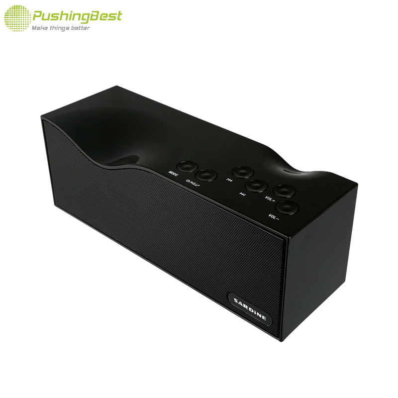 ФОТО Portable Wireless Speaker Bluetooth Speaker With LED display FM radio subwoofer Loudspeaker With USB For Computer Phone