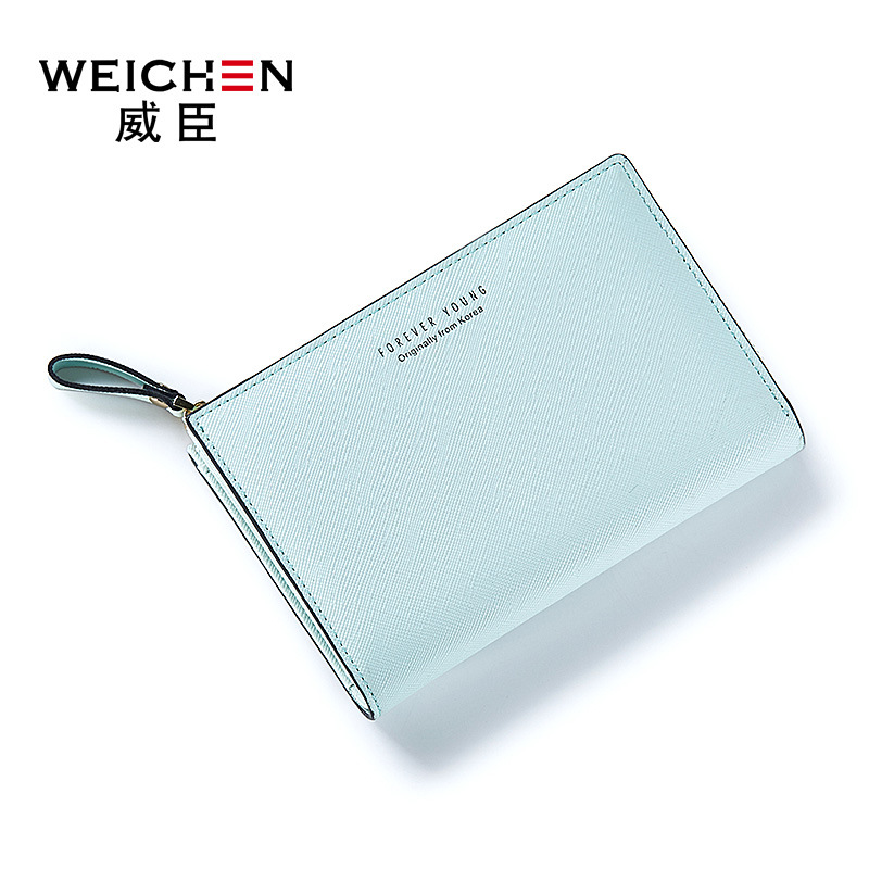 Slim Small Women Wallet Female Purse Mini Clutch PU Leather Short Wallet Women Purses Card Holders Zipper Money Bag