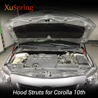 Car Bonnet Hood Cover Lift Support Spring Shock Strut Bars Hydraulic Rod for Toyota Corolla Axio 2006 2019 E140 E150 10nd Gen