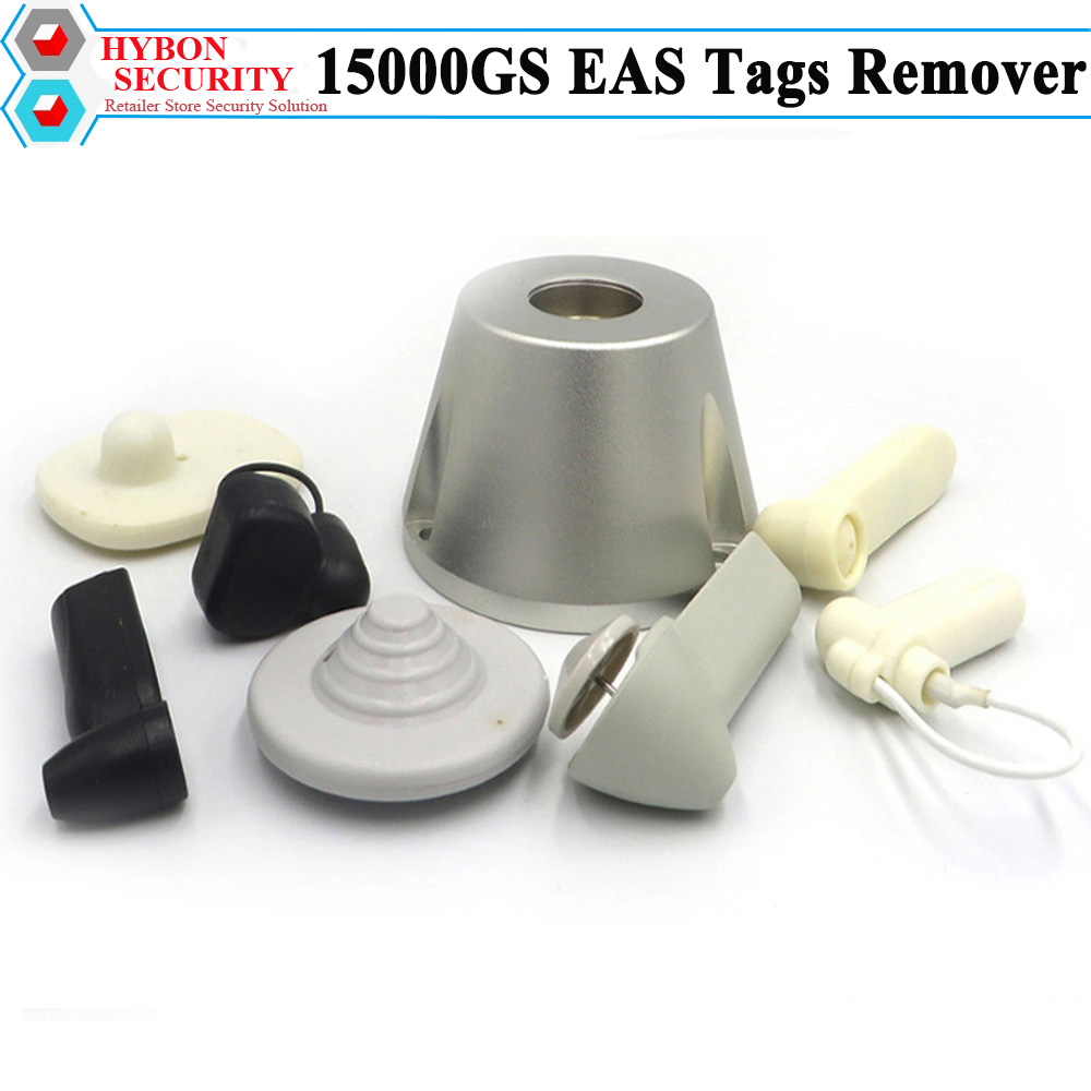 HYBON Security Tag Remover Magnet 15000GS Clothing Detacher 15000gs Golf Tag Remover Unlocker Lockpick Seguridad Magnetico hybon security super golf detacher 15000gs eas tag remover security magnetic detacher clothing tag remover llavero cuerda