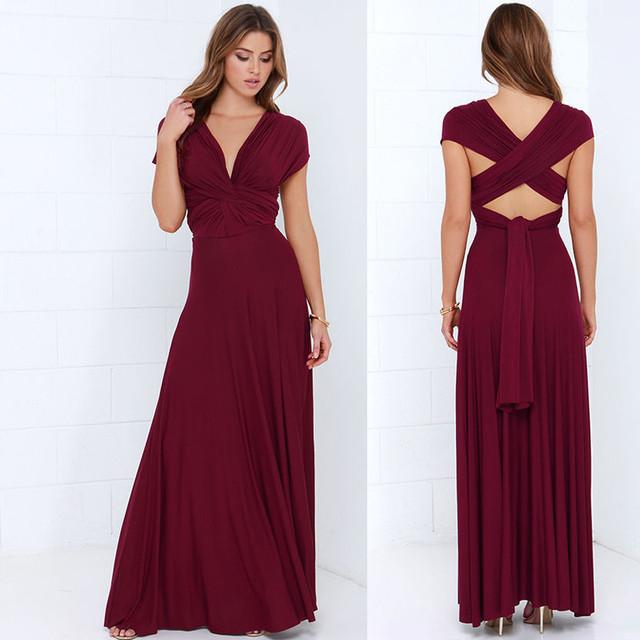 Infinity Wrap Robe Maxi Dress