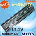 4400 mAh Bateria Para Compaq Presario CQ42 HSTNN-UB0W MU06 MU09 CQ32 G62 G72 586006-321 586006-361 586007-541 586028-341