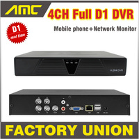 2014 New DVR 4 Channel H 264 Full D1 4ch Real Time Recording Support Network Mobile