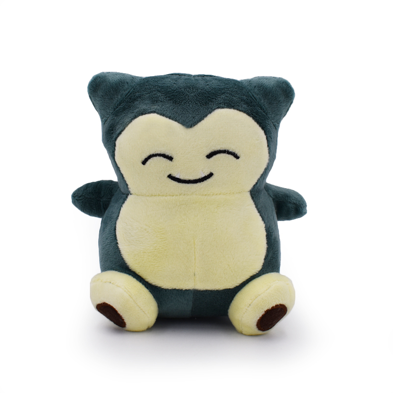 "Valentine's Day 1pcs 6inch""15cm Plush Toy Snorlax Plush Anime New Rare Soft Stuffed Animal Doll For Kids Gift"
