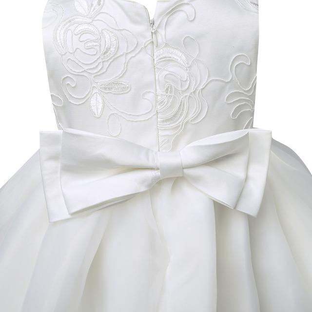 Cute Ivory Baby Girl Christening Dress