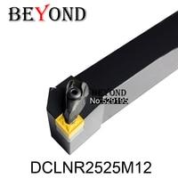 DCLNR2525M12 Turning Tool Holder Boring Bar Internal Turning Tools D TYPE Locked Mini Lathe Tool Holder