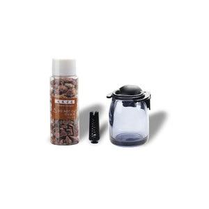 Image 5 - Car Vent Air Conditioning Perfume Air Freshener Glass Vase No Alcohol Stone Perfumes Natural Fragrance Car Decoration Parts