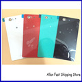Original Rear Glass Back Battery Cover For Sony Xperia Z3 Compact Mini M55W  Rear Housing Case +LOGO