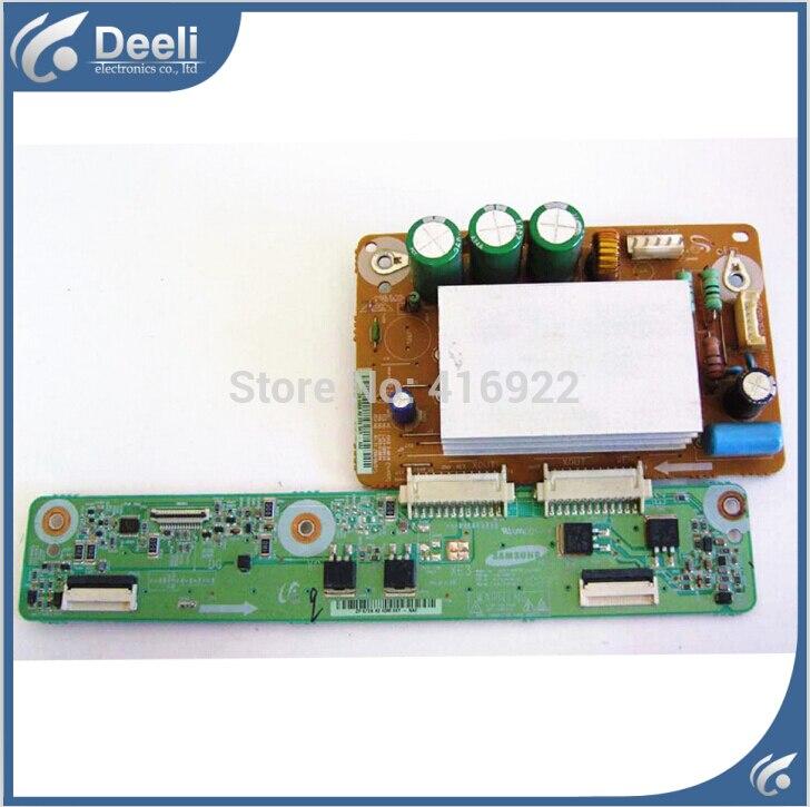 все цены на 95% new original for LJ41-06613A LJ92-01668A +LJ41-06615A LJ92-01672A X board screen S42AX-YB08 FOR PLASMA PN42B430P2D 2pcs/set онлайн