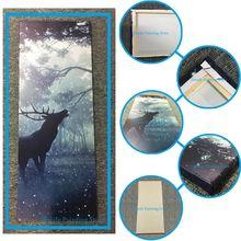 1 Шт. Лунный Свет Будды Лист Бодхи HD Печатные Холст Wall Art Плакаты и Принты Плакат Живопись