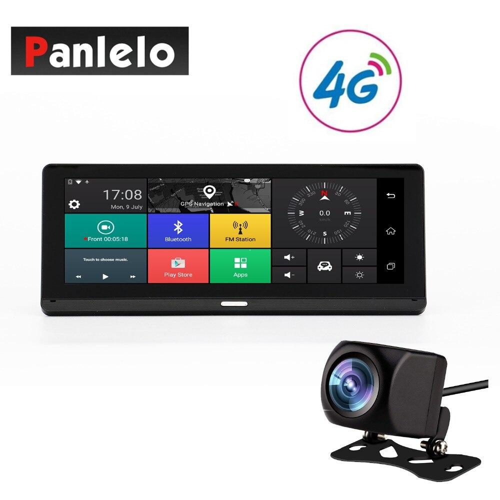 Автомобиль тире камера Android gps навигации 7,84 'сенсорный экран 3g/Сеть 4G 4 ядра 1. 3G Гц Bluetooth P 1080 P DVR заднего вида