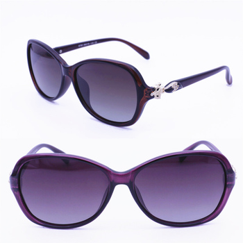 618d248f2eac 8790 high quality UV400 polarized butterfly style with fox pattern outdoor  travel gradient color fashion sunglasses