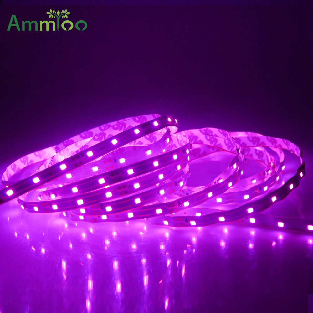 size 40 228ec 4c536 US $3.2 20% OFF|AmmToo SMD 2835 5050 Pink Led Light Strip 300Leds 5M Led  Strip 12V Flexible Ribbon Tape Lighting For Living Room Decorations-in LED  ...