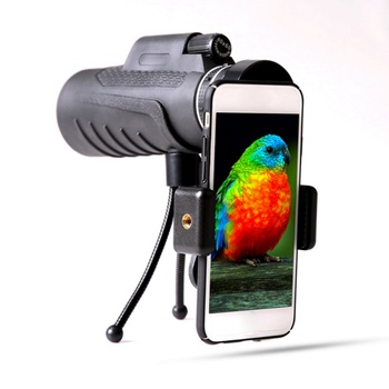HD Professional 40x60 Powerful Monocular Binoculars High Quality Zoom Great Handheld Telescope night vision Military image