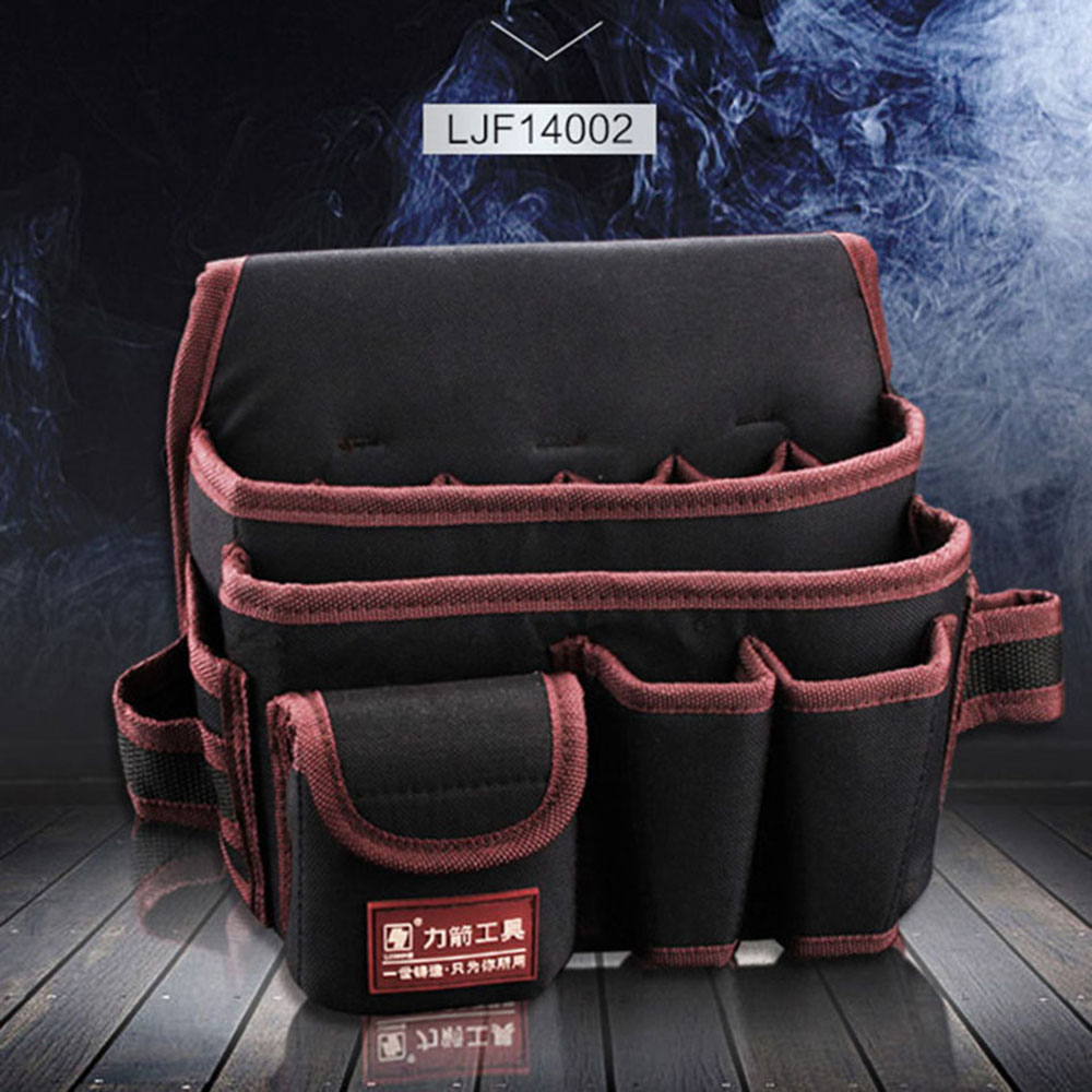 Multi-functional Water proof Cloth Rivet fixed Tool Bag (11)