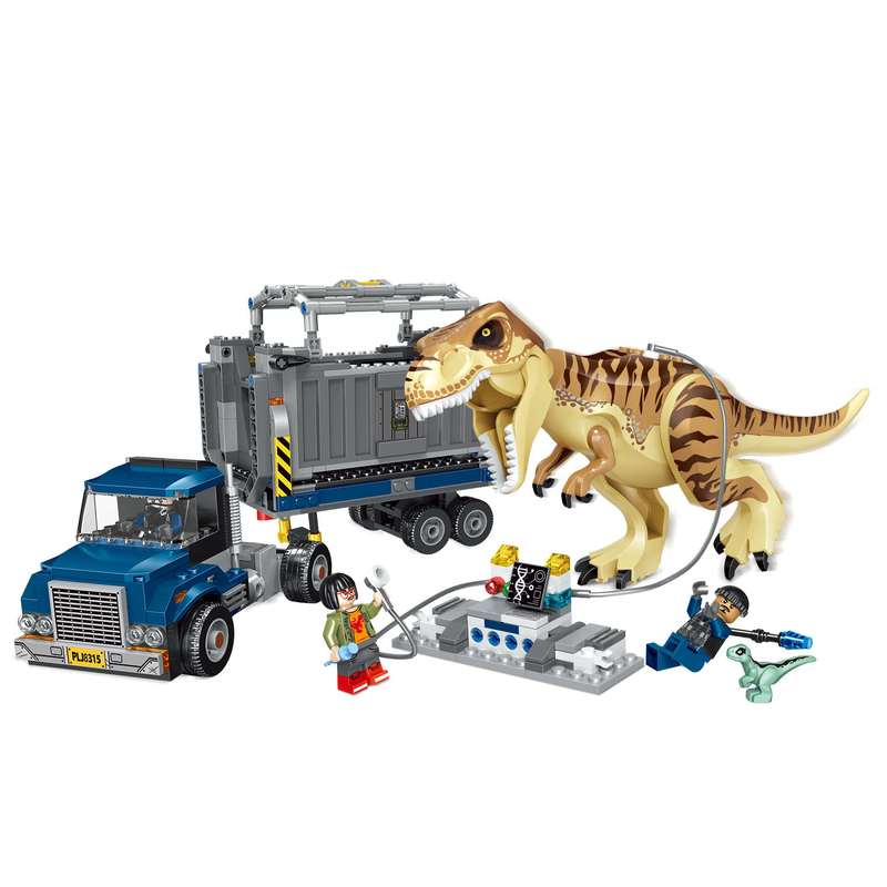 39116 Jurassic World Park dinosaure Tyrannosaurus Rex Indominus Rex blocs de construction jouets pour enfants compatibles avec