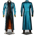 New Exclusive Devil May Cry 3 DMC3 Vergil cosplay Costume Original Suit Any Size Customized