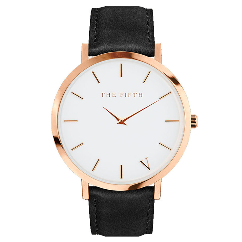 Fashion Simple Classic Style Top Famous brand  quartz watch Women casual Leather watches Men hot Clock Reloj mujeres