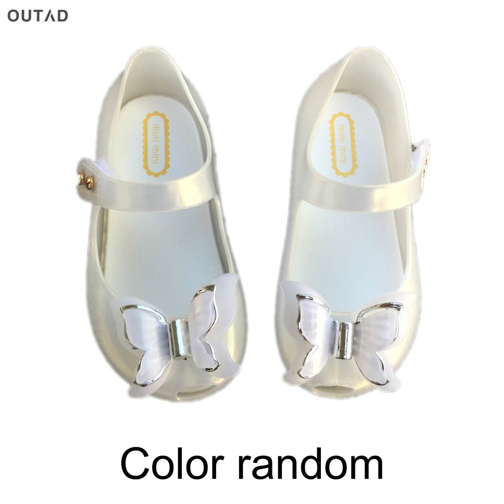 Childrens Shoes Girls Sandals Light Up Colorful Flashing Led Light PVC Soles Bow Princess Sandals Four Colors Lovely Girl Shoes
