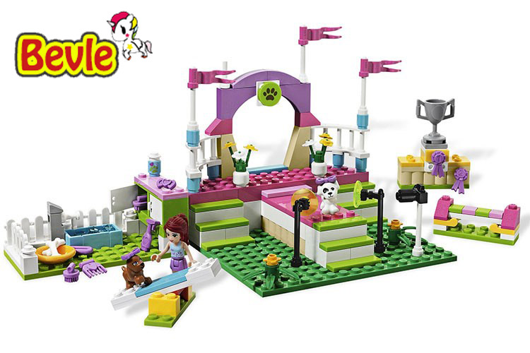Bevle Bela 10159 Friends Pet Performance Stage Toys Gift Building Block Toys Compatible with LEPIN lepin 22001 pirate ship imperial warships model building block briks toys gift 1717pcs compatible legoed 10210