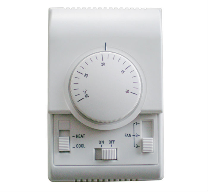 AC220V room thermostat, fan coil thermostat working with 3 speed fan, air damper thermostat setting range 10-30 centigrade taie thermostat fy800 temperature control table fy800 201000