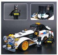 New 305Pcs Lepin 07047 Genuine Batman Series The Arctic War Penguin Classic Car Set Building Blocks