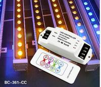 BC 361 350/700ma 3CH Constant Current Multi function RGB Controller RF remote LED RGB cotroller DC12V DC48V LED Controller