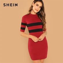 c469ae0baa75 Stripe Ribbed Knit Dress-Kaufen billigStripe Ribbed Knit Dress ...