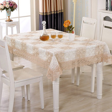 European lace table cloth coffee set Christmas tablecloth embroidery hollow jacquard series