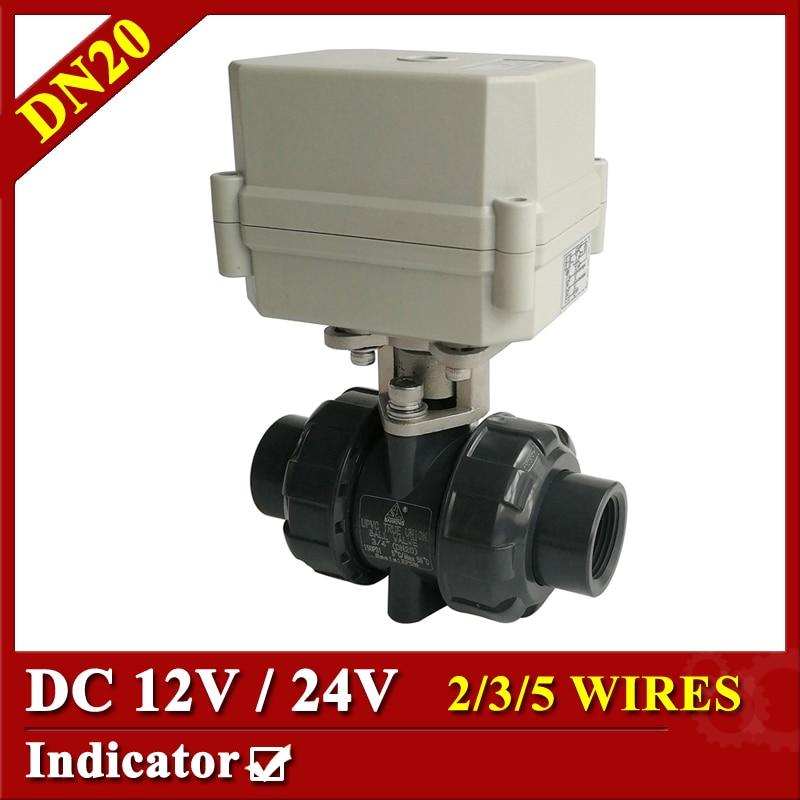 Tsai Fan motorized ball valve 3/4