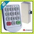Free Shipping Metal Digital Electronic Password Keypad Number Cabinet Code Door Locker Locks