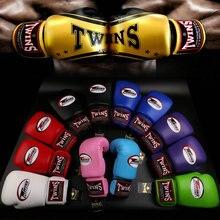 8 унц. ций-14 унц. ций красные боксерские перчатки для близнецов для взрослых, играющие с песком, Парри, которые мужчины и женщины борются с тренировочными боксерскими перчатками Санда Муай Тай