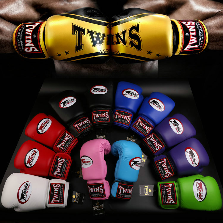 8oz-14oz Red twins boxing gloves adult playing sandbags parry that men and women fight training sanda muay Thai boxing gloves