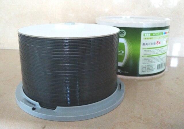 Miễn phí vận chuyển BD-R 50 GB ray blue ray Disc BDR 50 gam Bluray máy In phun In 8X10 cái/lô
