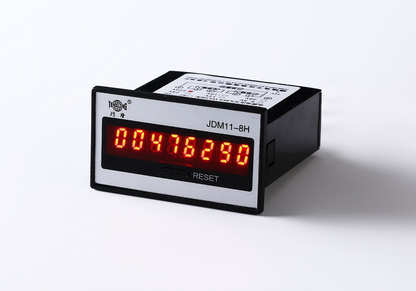 Electronic Counter 8 bit Digital Display Counter Electronic Accumulation Counter JDM 11 8H