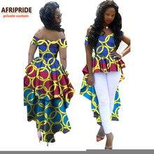 AFRIPRIDE アフリカ女性服 V アンカラ
